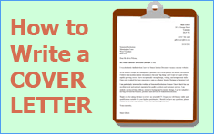 what to write in a cover letter for a cv