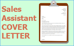 good cover letters for sales assistant This cv template gives you an idea of how to lay out your skills and experience if you're applying for a role as a a retail sales assistant you'll also see examples.