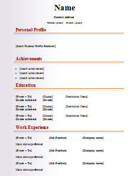 how to write a resume student   Template   how to wright resume