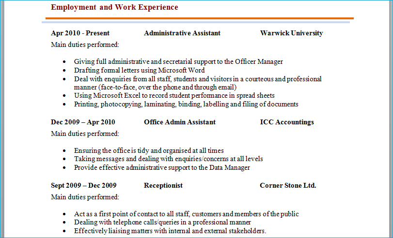 Resume Or Cv Format professional cv template layout resume examples  microsoft word resume layout resume templates
