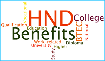 Higher National Diploma Course Benefits