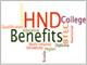 Benefits of HND
