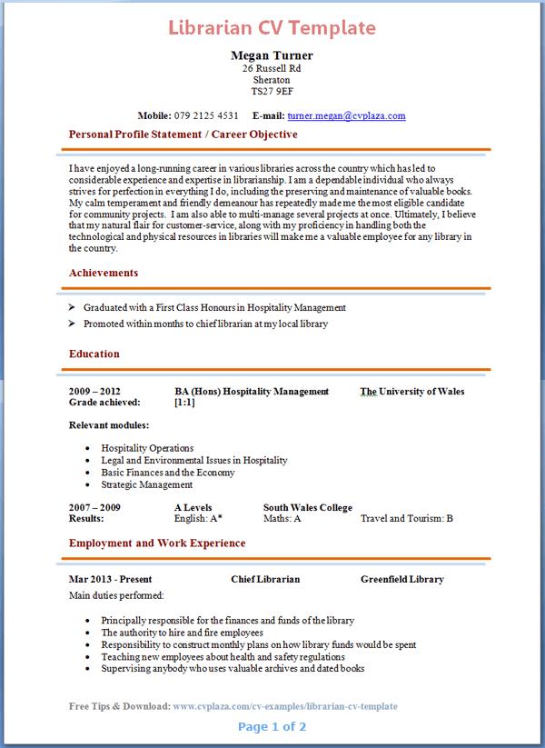 librarian resume sample advertisements academic resume template
