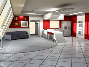 Example of an interior design project