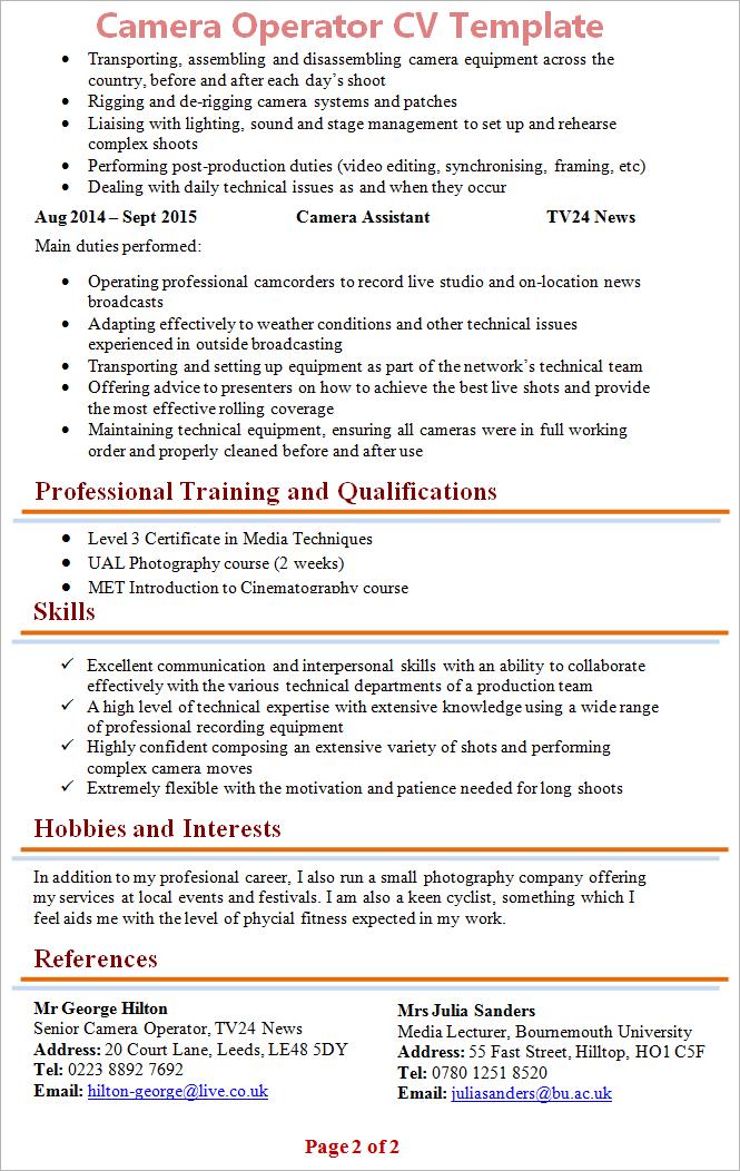 camera-operator-cv-template-2