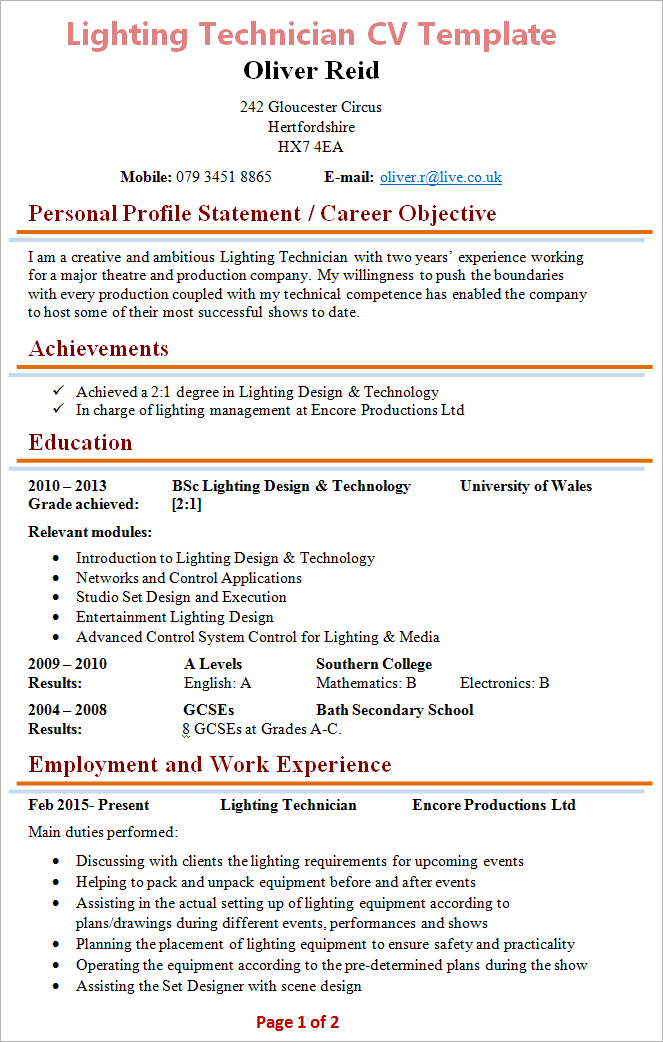 blank cv in word for job autos post