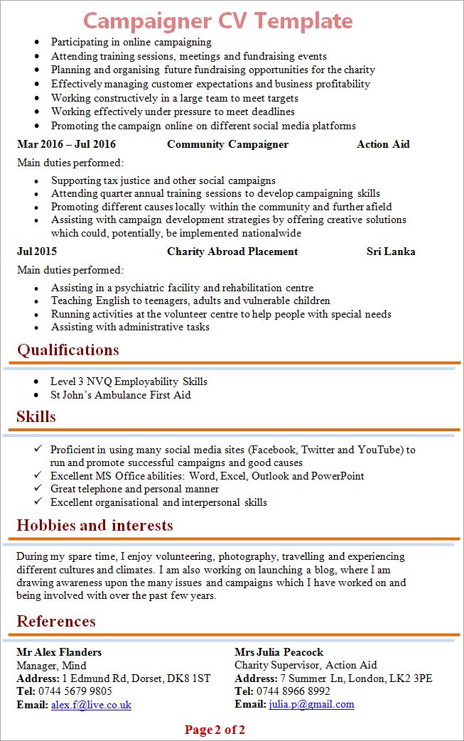 campaigner-cv-template-2