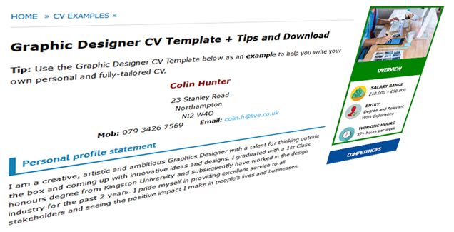 example-of-good-cvs-and-templates-uk-download