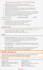 hobbies-and-interests-on-cv