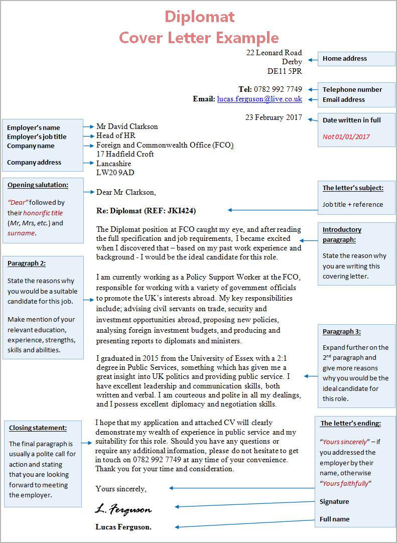 diplomat-cover-letter