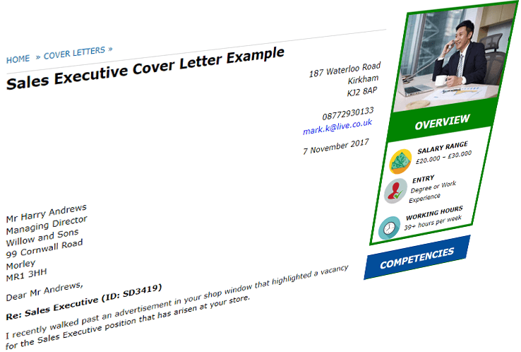 Excellent cover letter examples for 100+ jobs - CV Plaza